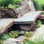 Строительство каменных скамеек