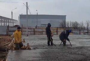 бетон на гранитном щебне