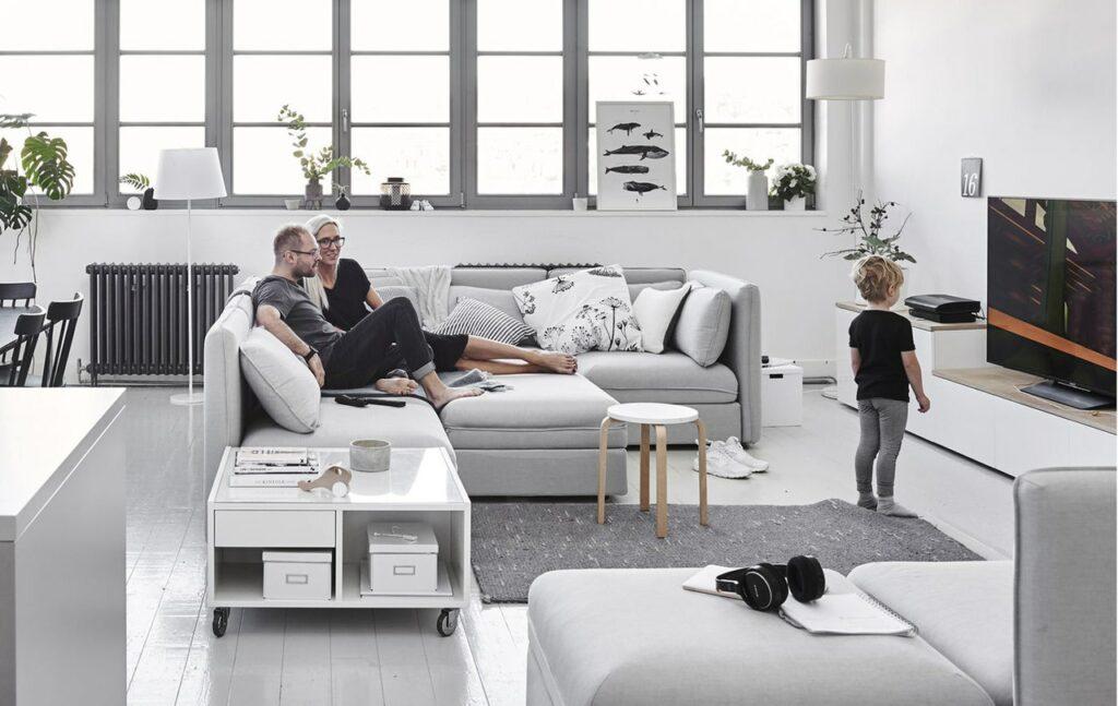 Современный модульный диван из серии валлентуна
