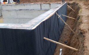 Вертикальная гидроизоляция ленточного фундамента