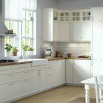 большие кухни будбин в интерьере фото икеа