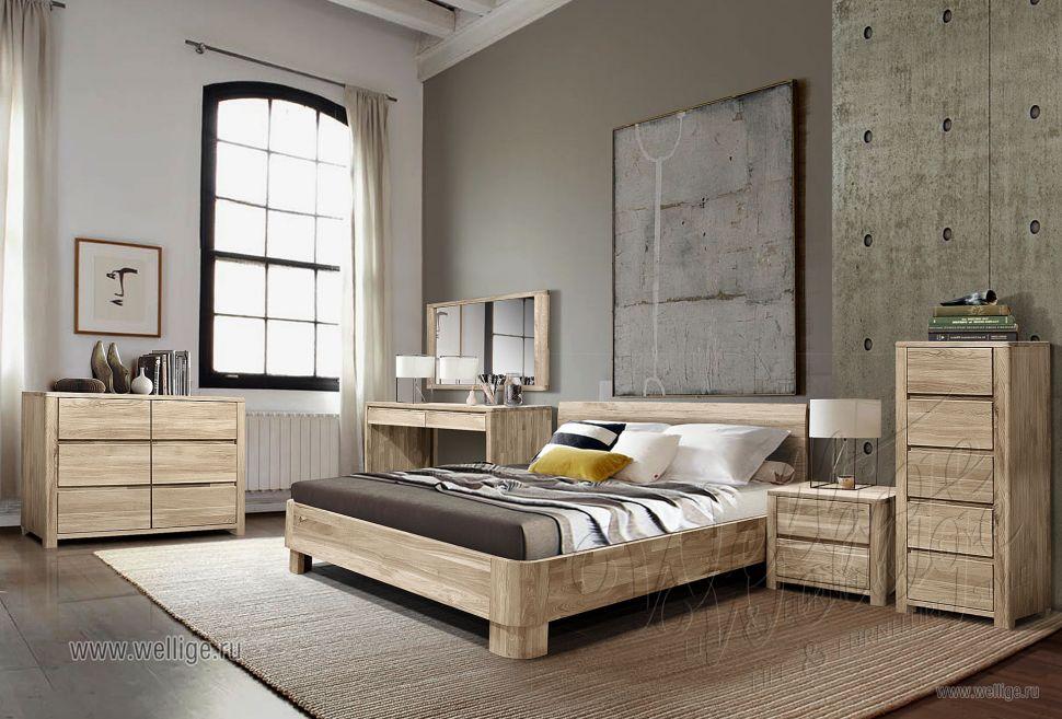 Дизайн спальни в стиле Лофт — новая эстетика комфорта