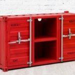 Красная мебель для гостиной