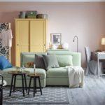 диван валлентуна в интерьере квартиры фото