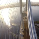 Мосты: затяжка канатами
