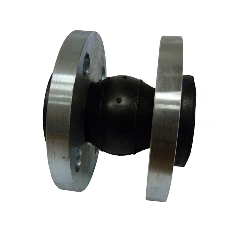 Компенсатор стальной резиновый фланцевый