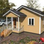 Строительство домов из бруса зимой