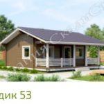 Дома из бруса от компании «СкадиСтрой»