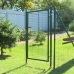 Как построить забор из сетки рабицы