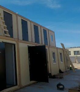 модульные каркасные здания