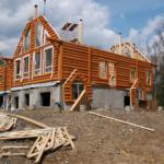 Основные моменты строительства деревянного дома