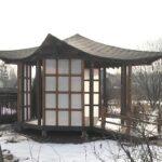 Беседки для сада в японском стиле