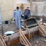 Экономия цемента, щебня и мелкого заполнителя в бутобетонных фундаментах