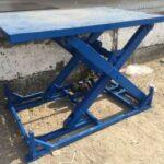 Подъемное оборудование: принцип работы гидравлического подъемного стола