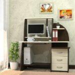 Практичные и стильные компьютерные столы от мебельной фабрики «Амалтея»