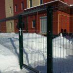 Быстровозводимый забор из прутьев