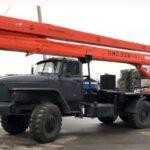 Автовышка АГП ПМС 328-01.