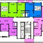 Дома серии КОПЭ — планировка квартир с размерами, модификации.