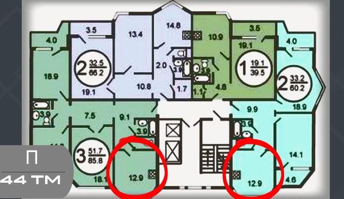 П44-ТМ планировка