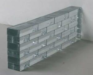 стена из стеклокирпича