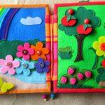 Шьем самостоятельно книжки из фетра для развития ребенка