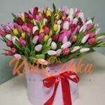 Доставка цветов в корзинах от «Kvitochka»