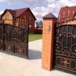 Как выбрать привод для кованых откатных ворот