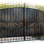 Кованные ворота от компании «Металлтмб»