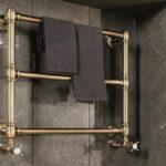 Установка и подключение водяных полотенцесушителей